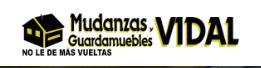 GUARDAMUEBLES Y MUDANZAS VIDAL
