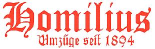 Homilius Umzüge