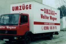 Umzüge Walter Wegner