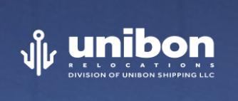Moving company Unibon Shipping LLC